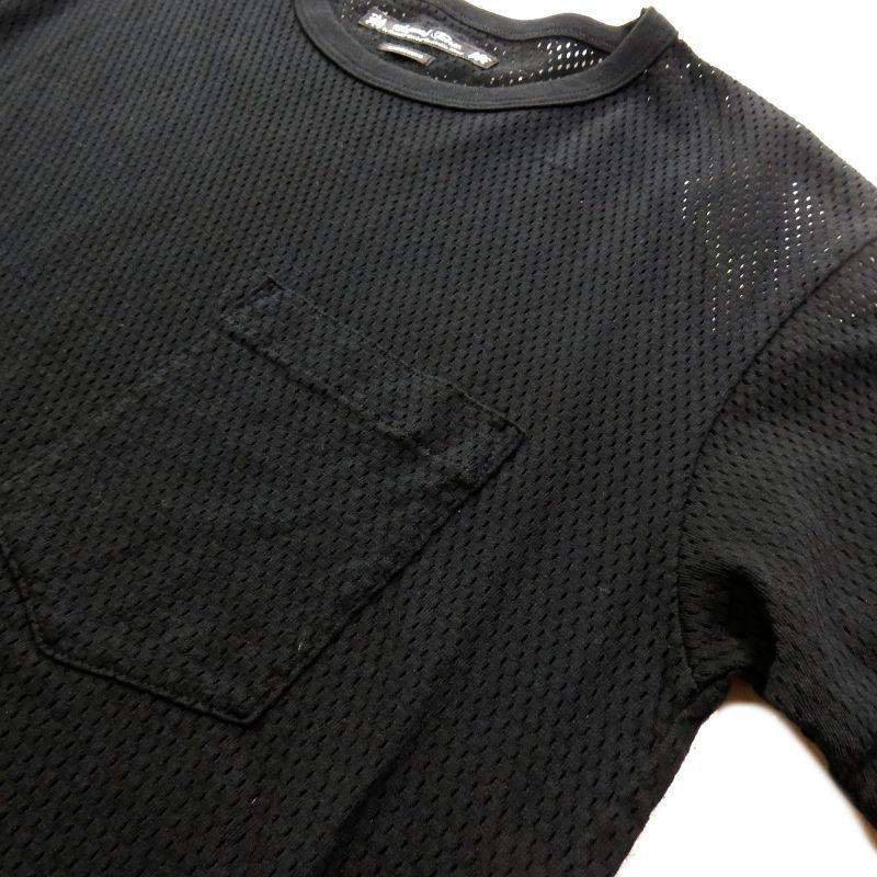 画像3: SASQUATCHfabrix Underwear Mesh Tee ブラック