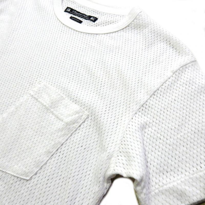 画像3: SASQUATCHfabrix Underwear Mesh Tee ホワイト