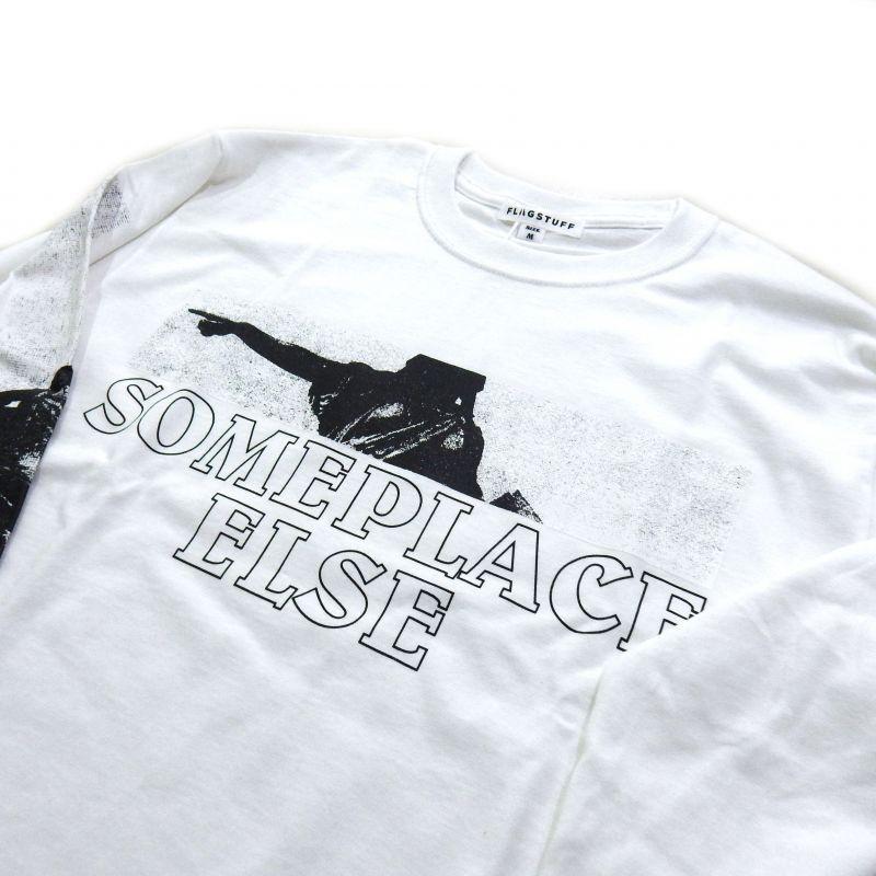 画像3: F-LAGSTUF-F SOMEPLACE LS TEE ホワイト