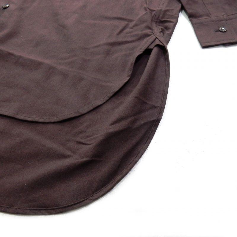 画像4: FACETASM BASIC LONG SHIRT ブラウン