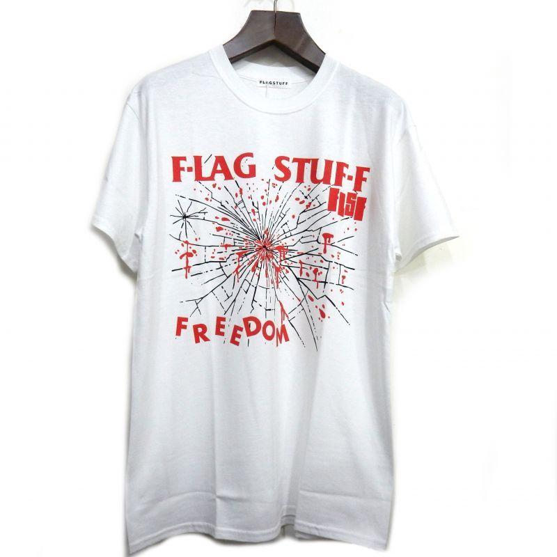 画像1: F-LAGSTUF-F FREEDOM TEE ホワイト