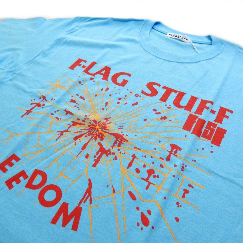 画像2: F-LAGSTUF-F FREEDOM TEE ブルー