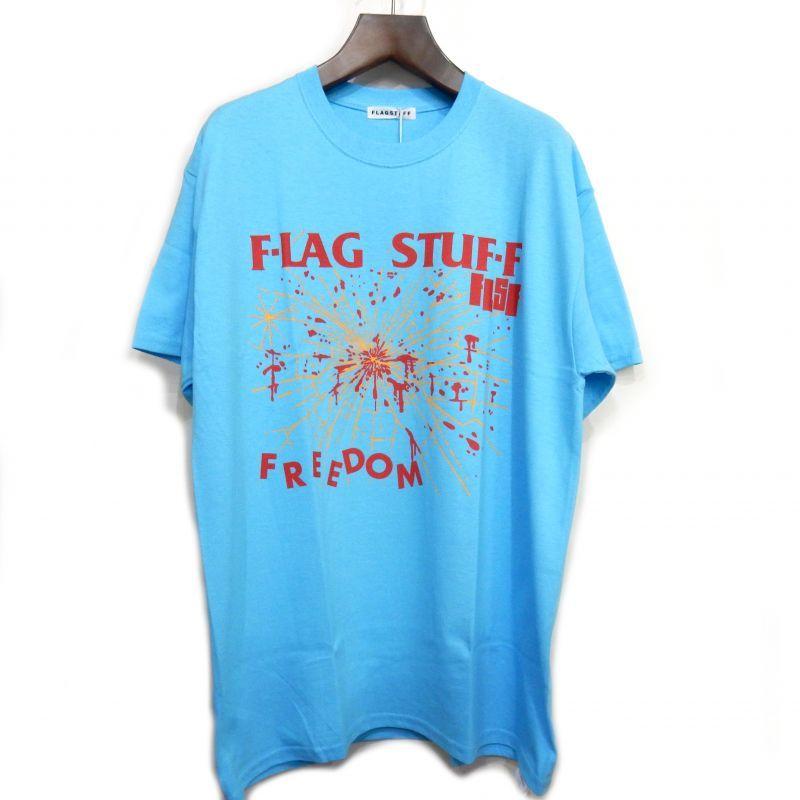 画像1: F-LAGSTUF-F FREEDOM TEE ブルー
