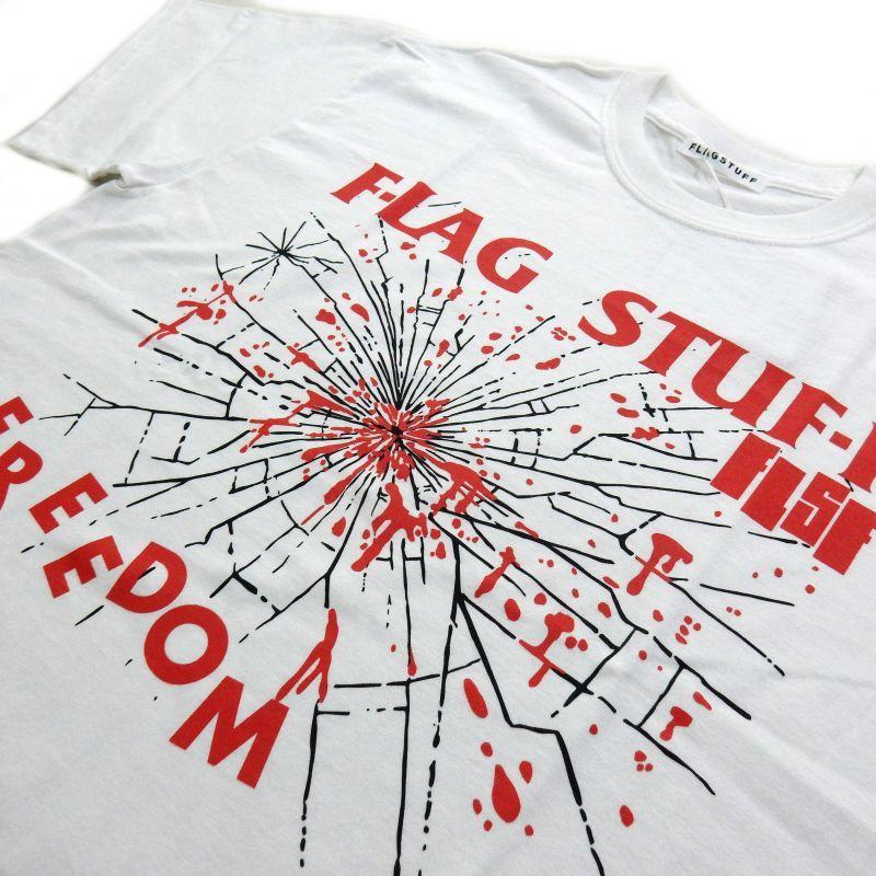 画像2: F-LAGSTUF-F FREEDOM TEE ホワイト