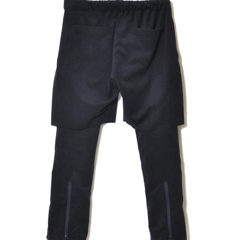 画像2: Sasquatchfabrix ULTRA SUEDE LAYERED PANTS