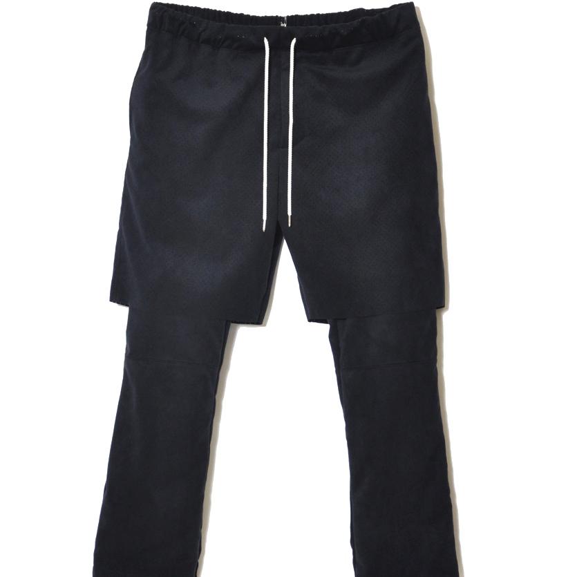 画像1: Sasquatchfabrix ULTRA SUEDE LAYERED PANTS