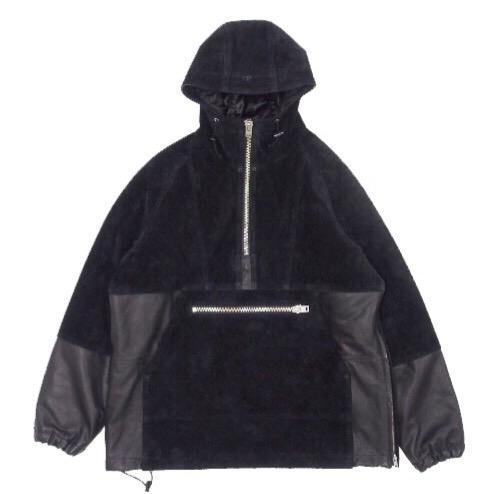 画像1: F-LAGSTUF-F x BLACKMEANS PO SUEDE ANOLACK ブラック