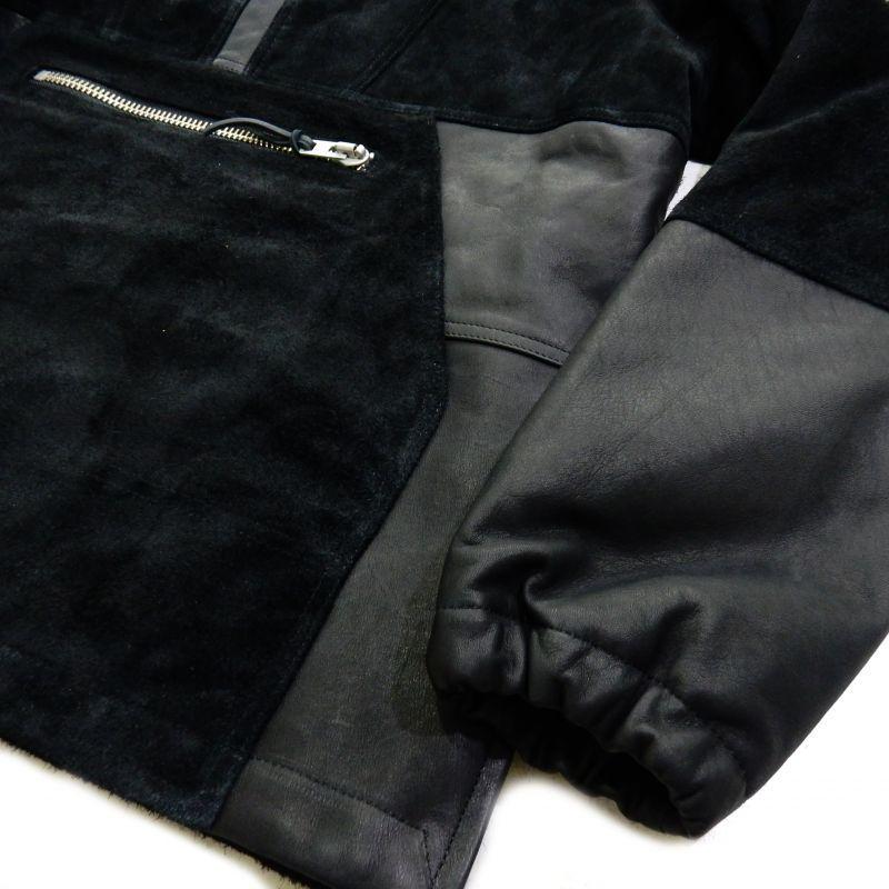 画像5: F-LAGSTUF-F x BLACKMEANS PO SUEDE ANOLACK ブラック