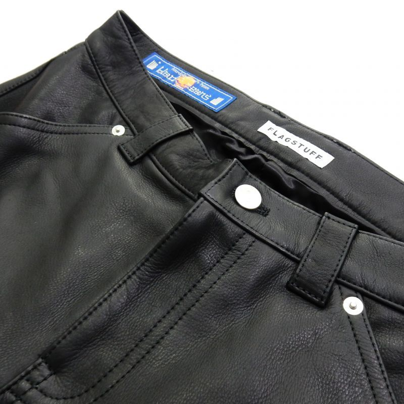 画像3: F-LAGSTUF-F x BLACKMEANS LEATHER PANTS