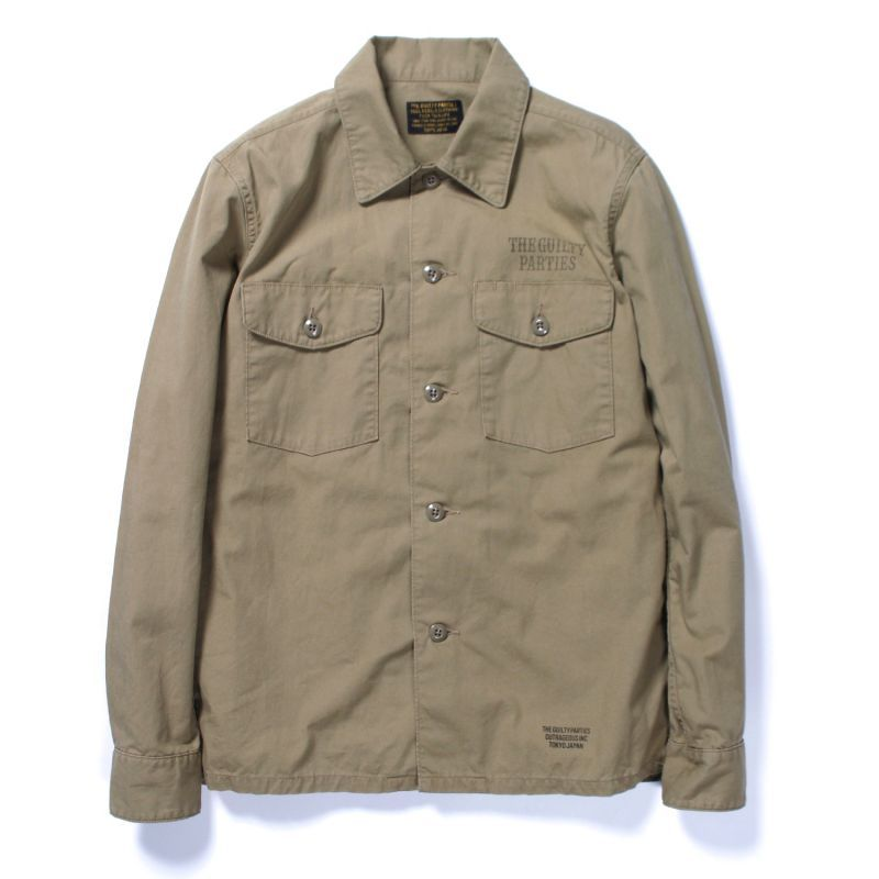 画像2: WACKO MARIA ARMY SHIRT (TYPE 5)