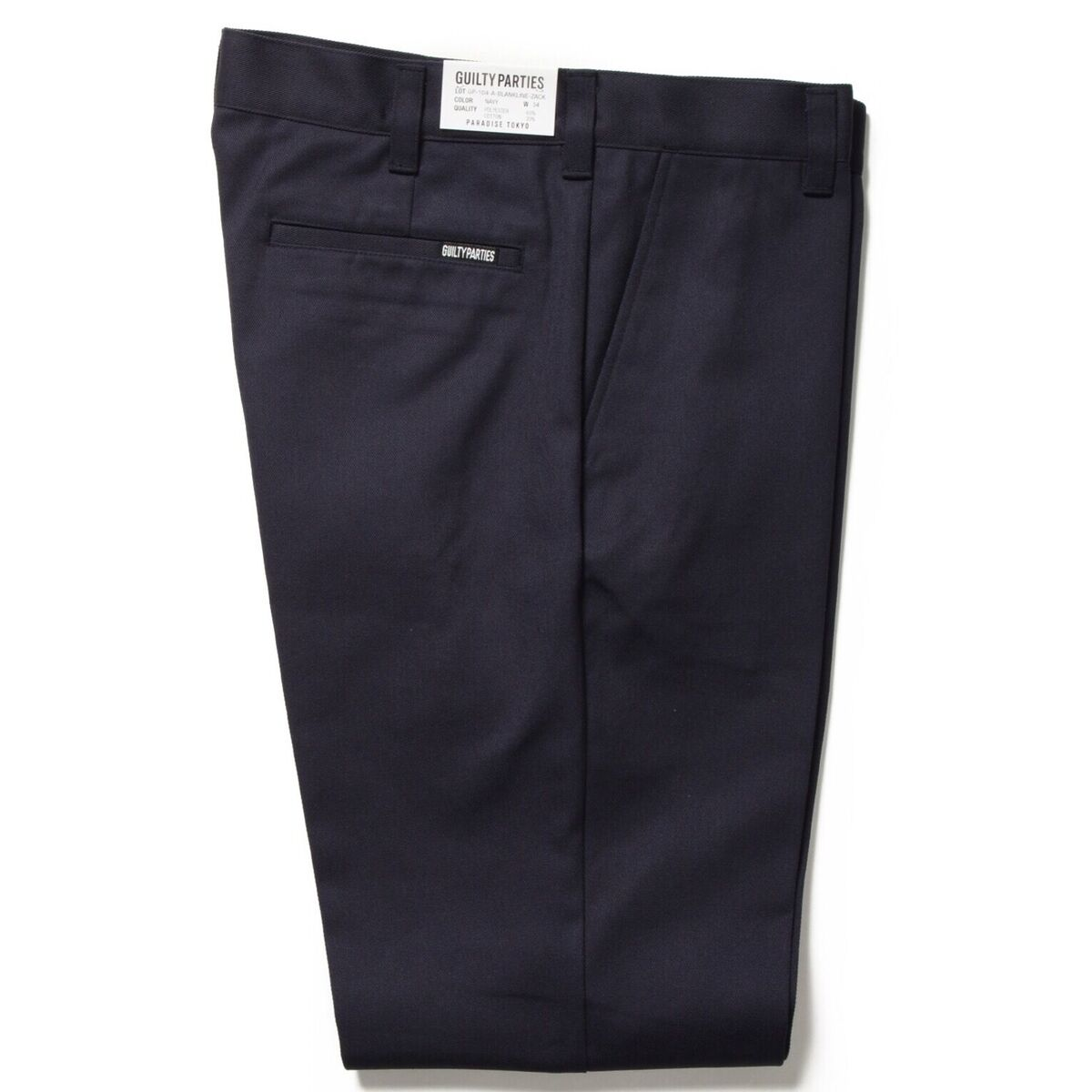 画像3: WACKO MARIA TWILL SKATE PANTS TYPE 2 (NAVY)