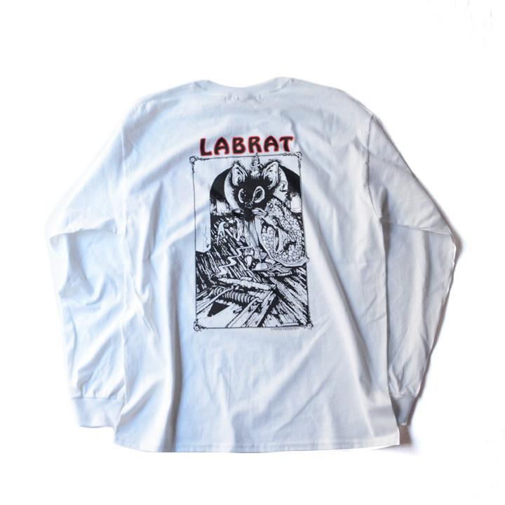 画像1: LABRAT x PETER PAQUIN RAT KILLER L/S TEE