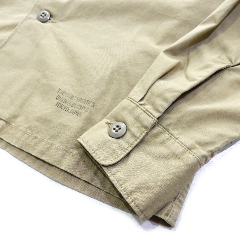 画像4: WACKO MARIA ARMY SHIRT (TYPE 5)