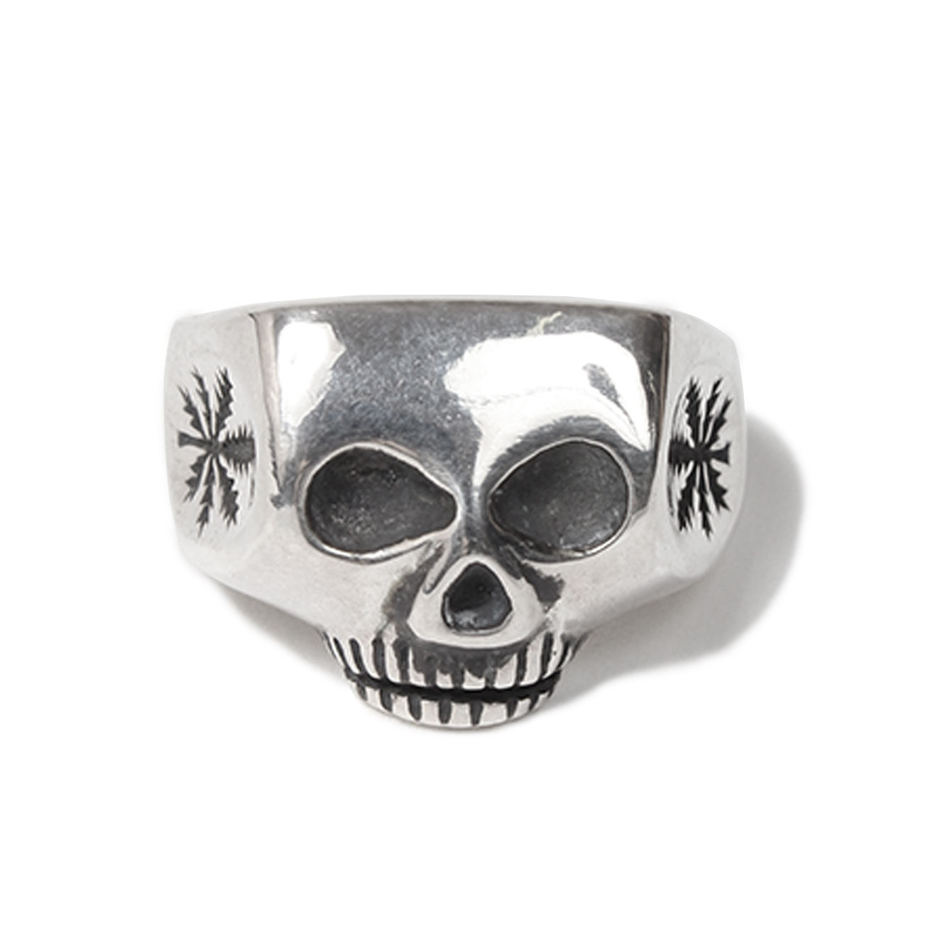 画像2: WACKO MARIA x FLASH POINT JIM SKULL RING WEED (TYPE-1)