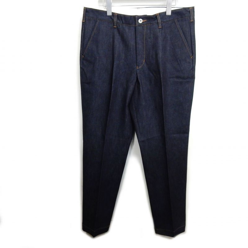 画像1: SON OF THE CHEESE DENIM SLACKS