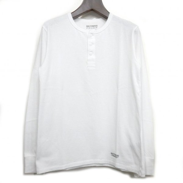 画像1: WACKO MARIA U.S.A HENRY NECK UNDER SHIRT