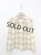 LADIES / Freddies of Pinewood Lime Plaid Shirt