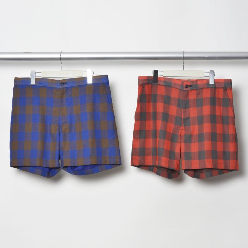 画像1: FACETASM Block Check Shorts