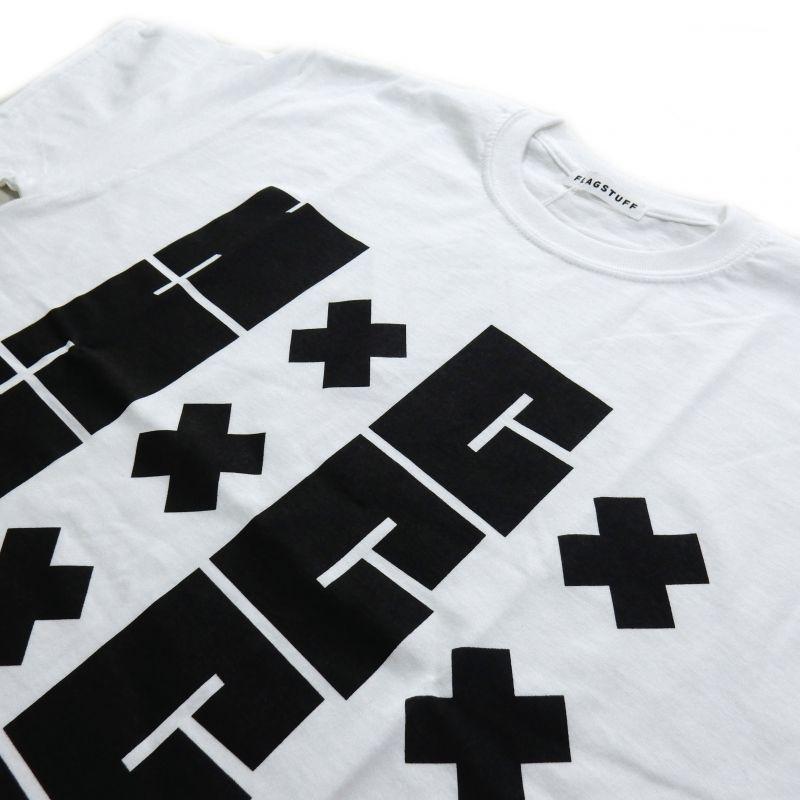 画像2: F-LAGSTUF-F HxCx TEE ホワイト