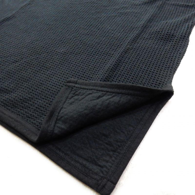 画像4: Sasquatchfabrix WINDOW WAFFLE TANKTOP ブラック