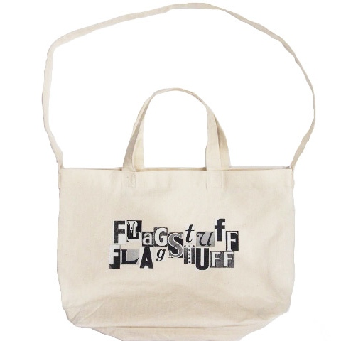 画像1: F-LAGSTUF-F CROSS LOGO BAG