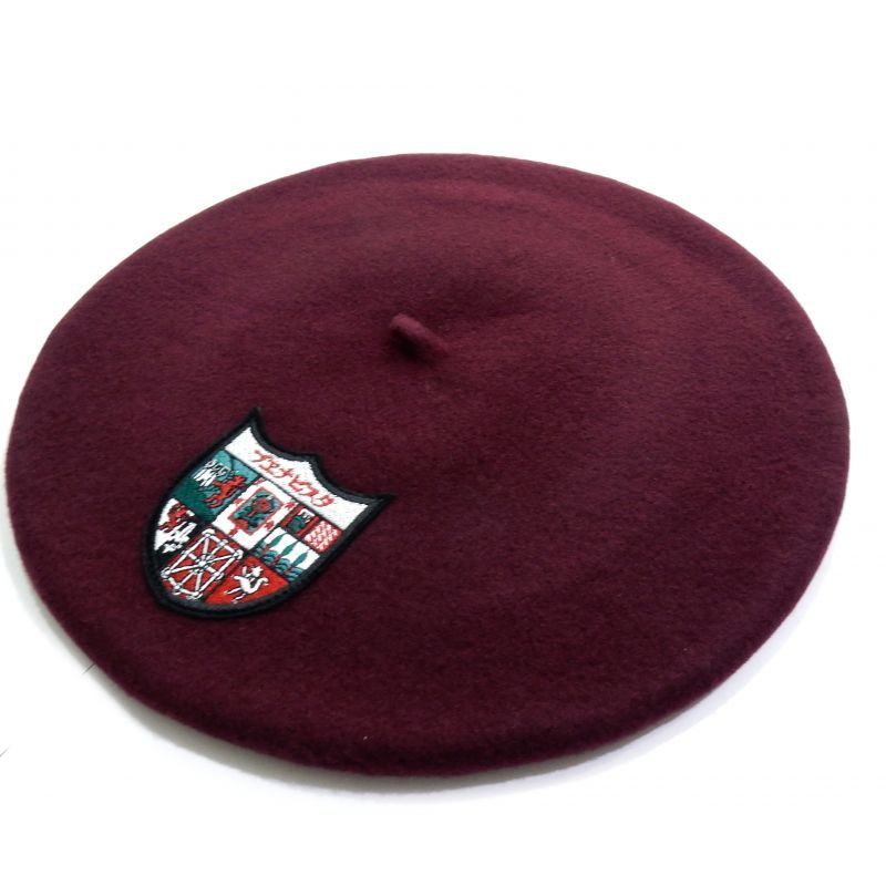 画像1: BUENA VISTA BASQUE BERET ダークレッド