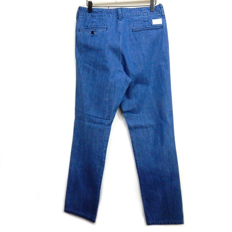 画像2: BUENA VISTA WASHED DENIM TUCK PNT