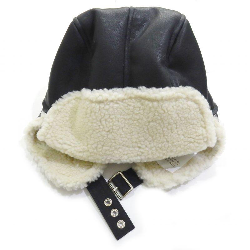 画像2: SUB-AGE MOUTON CAP ブラック