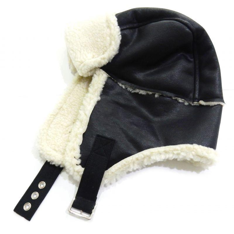画像1: SUB-AGE MOUTON CAP ブラック