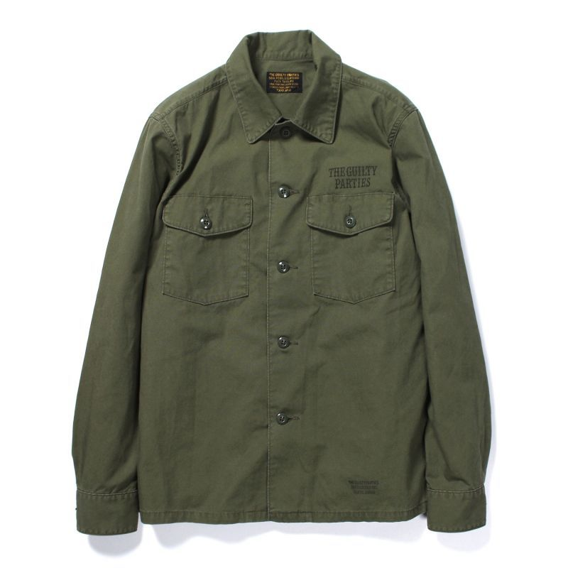 画像2: WACKO MARIA ARMY SHIRT (TYPE 3)