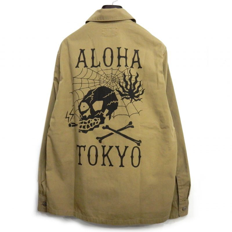 画像1: WACKO MARIA ARMY SHIRT (TYPE 3)