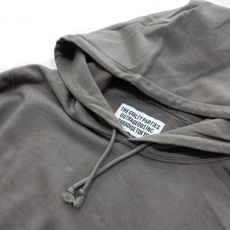 画像3: WACKO MARIA LIGHT WEIGHT PULLOVER HOODEDSWEAT SHIRT(TYPE-2)