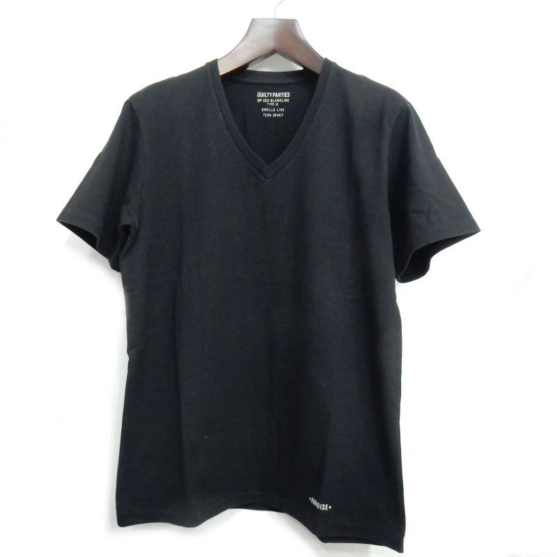 画像1: WACKO MARIA HEAVY WEIGHT V NECK T-SHIRT