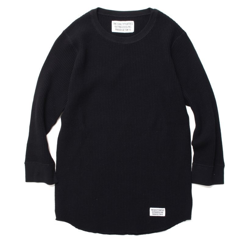 画像1: WACKO MARIA THREE QUARTER THERMAL SHIRT