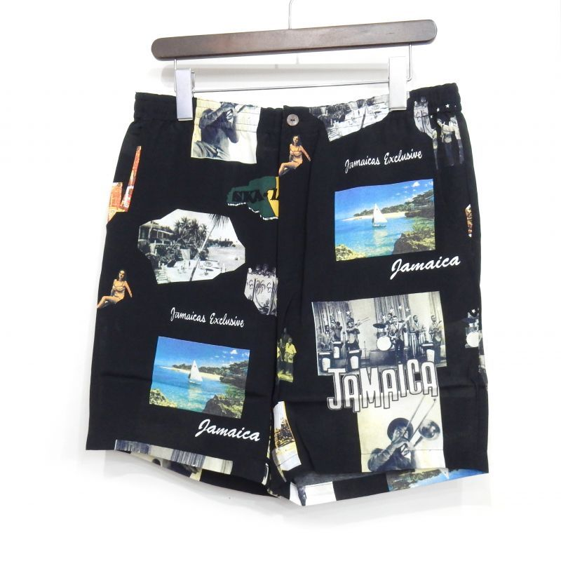 画像1: WACKO MARIA KINGSON JAMAICA HAWAIIAN SHORTS
