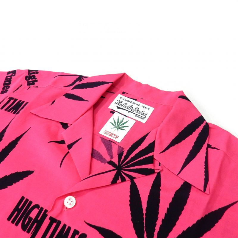 画像2: WACKO MARIA x HIGHTIMES HAWAIIAN SHIRT